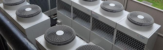 Climatización y ventilación de naves y locales